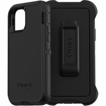 """Defender Series Rugged Case with Clip For iPhone 11 (6.1"""") - Otterbox Defender Series Screenless Edition - Black"""