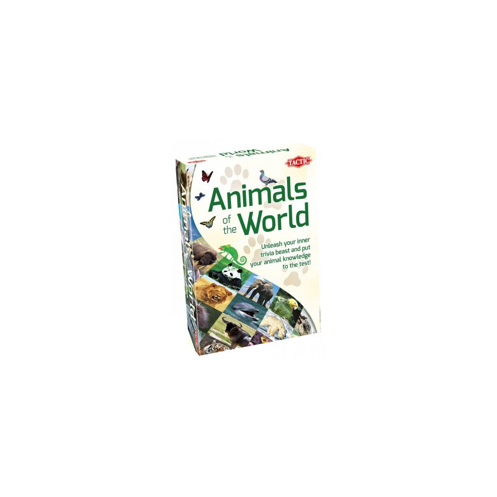 Tactic Animals of the World Card Game