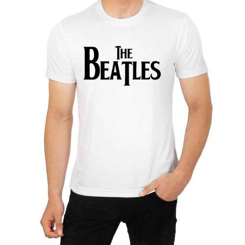 THE BEATLES Black design t shirt for Men's