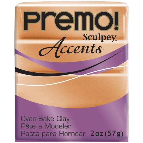 Premo Sculpey Accents Polymer Clay 2oz-Copper