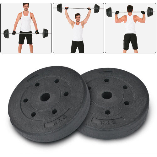 Weight Plates Dumbbells & Weights Lifting Barbell