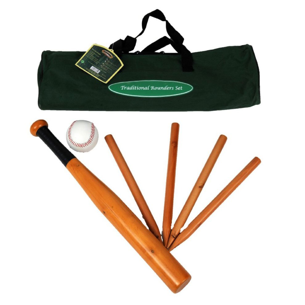 Traditional Garden Games Rounders Set