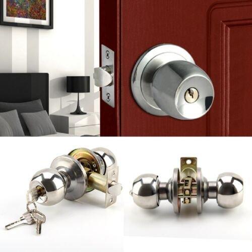 Stainless Steel Door Knobs Latch Lock