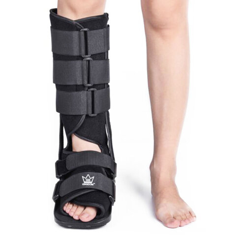 Kingdom GB Fixed Walker Fracture Medical Surgical Ankle Brace Leg Injury Support Protective Boot NHS Supply CE FDA ISO13845 Approved