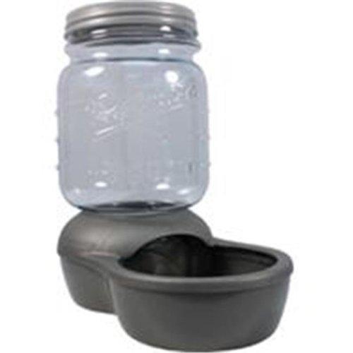 Petmate 684735 Mason Jar Replendish Dry Food Feeder - 2 Pound