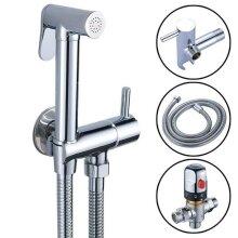 Toilet Shower Head Shower Thermostatic Mixer Valve Bidet Spray Kit