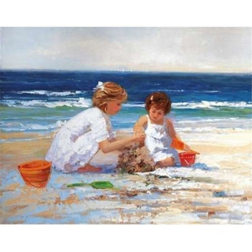 On The Shore Poster Print by Sally Swatland, 11 x 14 - Small