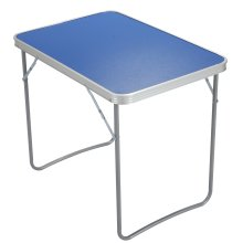 Lightweight Adjustable Aluminium Folding Outdoor Table