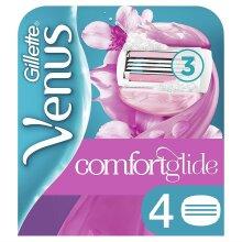 4 x Gillette Venus Spa Breeze Women's Replacement 3-Blade Razor Blade Cartridges