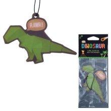 Funky Dinosaur Design Lime Fragranced Air Freshener