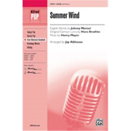 Alfred 00-37933 SUMMER WIND-STRX CD