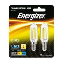 2 x Energizer LED Cooker Hood Bulb 4w=35w SES 15000 hrs life