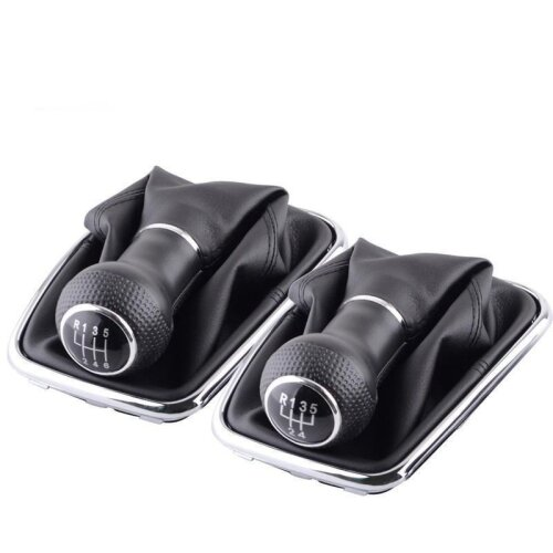 5/6- Speed Gear Shift Knob, Lever Shifter Collars For Car