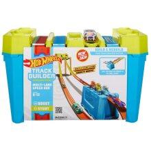 Hot Wheels Multi-Lane Speed Box | Track Builder Race Crate GLC95