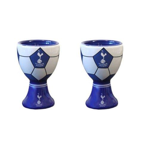 2 x Tottenham Hotspur Egg Cups - Official Spurs Egg Cups