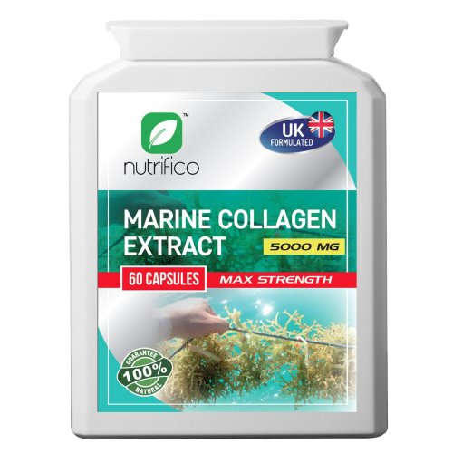 Marine Collagen 10:1 Extract 5000mg High Strength Concentrated Pills