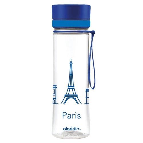Aladdin Aveo 0.6Litre Water Bottle, Blue City Series Paris–600ml