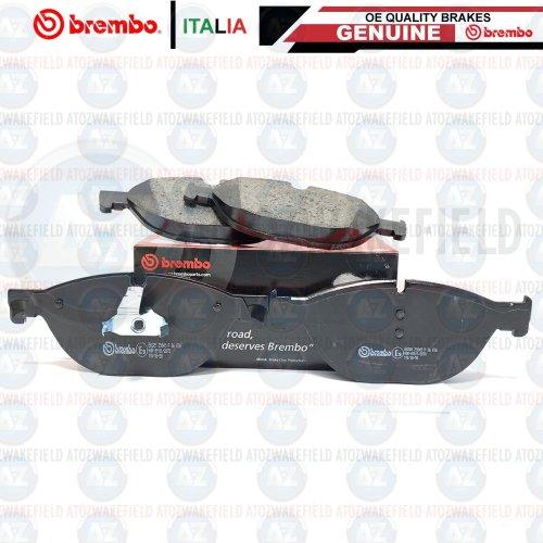 FOR BMW 530d 535d 640d 730d 740d FRONT PREMIUM BREMBO BRAKE PADS SET FR