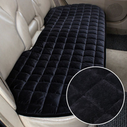 Car Breathable Rear Back Seat Cover Protector Mat Chair Cushion Black