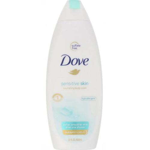 Dove, Sensitive Skin Body Wash, 22 fl oz (650 ml)