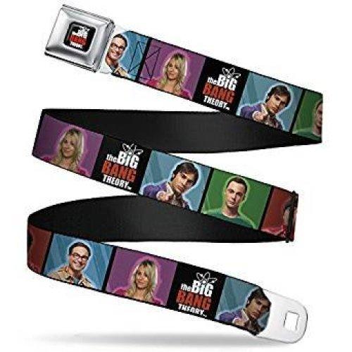 Seatbelt Belt - The Big Bang Theory - V.22 Adj 24-38' Mesh New bbta-wbbt008
