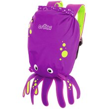 Trunki Kid's Water-Resistant Swim & Gym Bag – PaddlePak Inky Octopus (Purple)