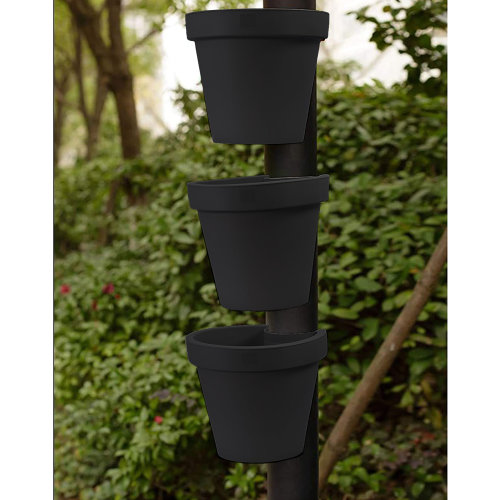 (3 x Pipe Flower Pot) Drain Pipe Flower Pot