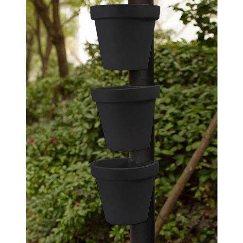 (3pk) GEEZY Drain Pipe Flower Pot