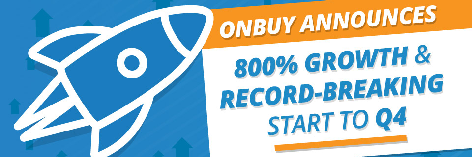 OnBuy announces 800% growth and record-breaking start to Q4