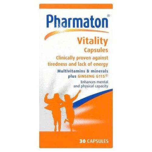 Pharmaton Vitality Capsules 30s | Tiredness Vitamins