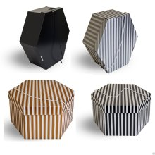 Wedding/formal hat storage boxes 2 sizes 4 colours