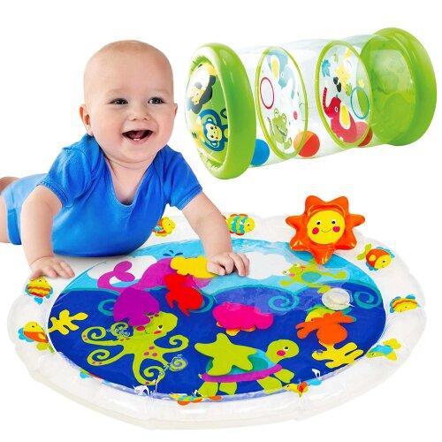 Tippi Baby Water Mat & Jungle Roller Set