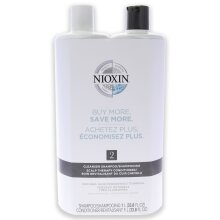 System 2 Kit by Nioxin for Unisex - 33.8oz Shampoo, Conditioner