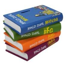 Roald Dahl Books 3D Money Bank