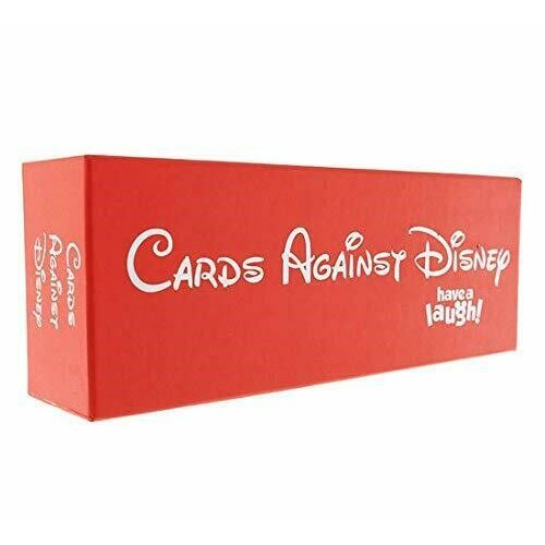 Cards Against Disney   Adult Card Game - RED - UK Edition
