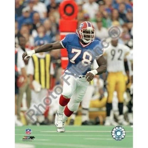 Bruce Smith Action Sports Photo - 8 x 10