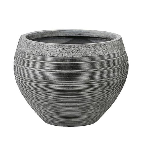 Winsome House WH054 Stone Pottery Bowl Planter, Small