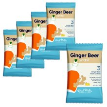 5x Mad Millie Ginger Beer Yeast 3x sachets makes 13.5L 3 Gallons