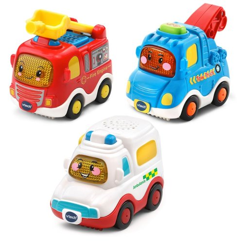 Vtech Toot-Toot Drivers 3 Car Pack Emergency Vehicles