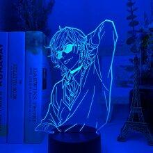 3D Lamp BL Anime Yarichin Bitch Club Yuri Ayato Light lamp
