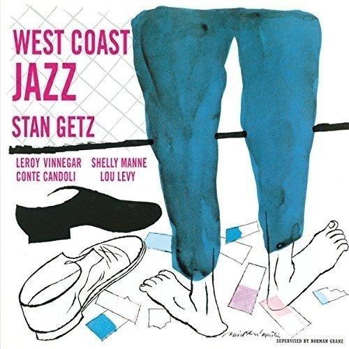 Stan Getz - West Coast Jazz - Stan Getz [3 Complete Albums   2 Extra Tracks] [CD]