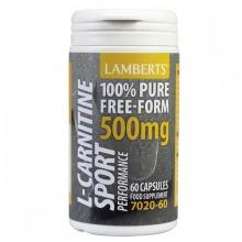 Lamberts Performance L-Carnitine 500mg Capsules 60 (8306-60)