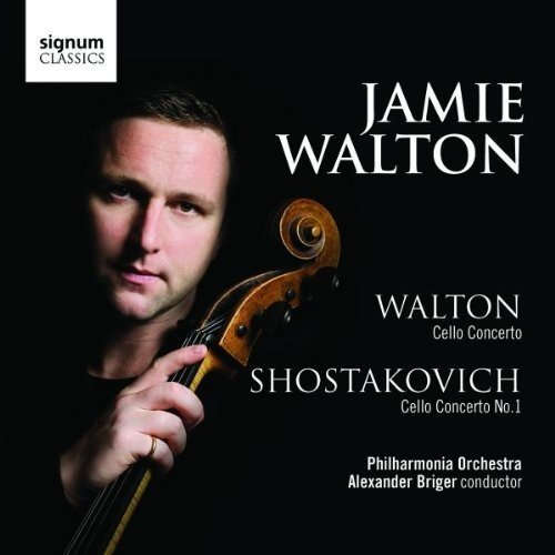 Philharmonia Orchestra - Walton: Cello Concerto; Shostakovich: Cello Concerto No.1 (Jamie Walton) [CD]
