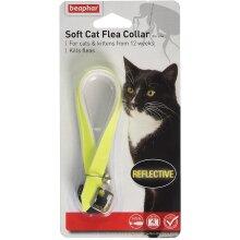 Beaphar Cat Comfortable Flea Reflective Collar, Yellow