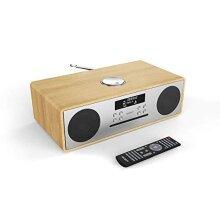 Majority Oakington DAB/DAB+ Digital FM Radio Bluetooth Wireless CD Player Micro Compact Hi-Fi Stereo Speaker System - Remote Control - USB Charging