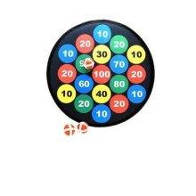4PC Kids Safe Dartboard 3 balls velcro Hangable dart board for kids