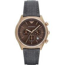 Emporio Armani AR1976 Men's Watch Chronograph,New with Tags