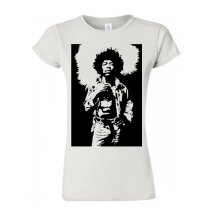 Jimi Hendrix Music Legend T Shirt Trendy Women T Shirt