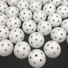 50* Golf Practice Training White Balls Airflow Hollow Air Flow Plastic Golf Ball