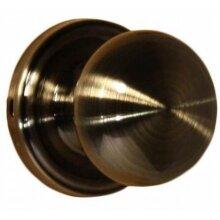 Weslock 00610IAIASL20 Impresa Privacy Lock with Adjustable Latch & Full Lip Strike, Antique Brass